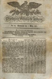 Privilegirte Schlesische Zeitung. 1827, No. 29 (7 März) + dod.