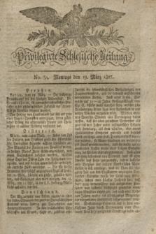 Privilegirte Schlesische Zeitung. 1827, No. 34 (19 März) + dod.