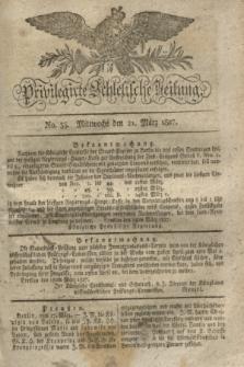 Privilegirte Schlesische Zeitung. 1827, No. 35 (21 März) + dod.