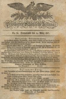 Privilegirte Schlesische Zeitung. 1827, No. 36 (24 März) + dod.