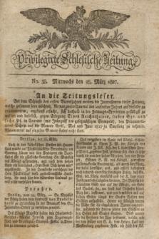 Privilegirte Schlesische Zeitung. 1827, No. 38 (28 März) + dod. + wkładka