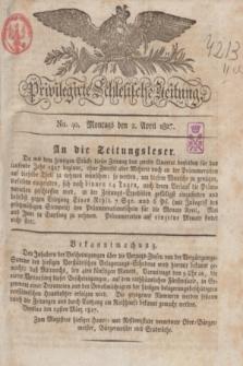 Privilegirte Schlesische Zeitung. 1827, No. 40 (2 April) + dod.