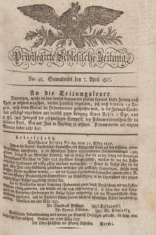 Privilegirte Schlesische Zeitung. 1827, No. 42 (7 April) + dod. + wkładka