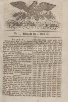 Privilegirte Schlesische Zeitung. 1827, No. 44 (11 April) + dod.