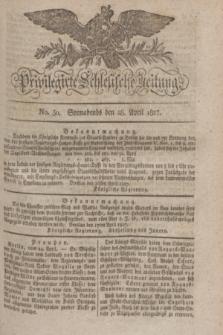 Privilegirte Schlesische Zeitung. 1827, No. 50 (28 April) + dod.