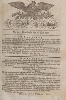 Privilegirte Schlesische Zeitung. 1827, No. 62 (26 Mai) + dod.