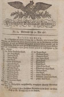 Privilegirte Schlesische Zeitung. 1827, No. 64 (30 Mai) + dod.