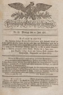 Privilegirte Schlesische Zeitung. 1827, No. 68 (11 Juni) + dod.