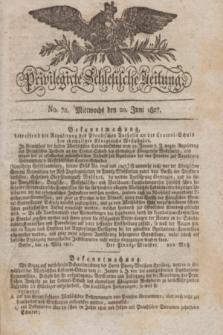 Privilegirte Schlesische Zeitung. 1827, No. 72 (20 Juni) + dod.