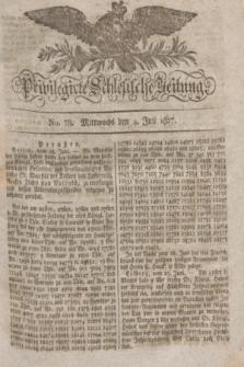 Privilegirte Schlesische Zeitung. 1827, No. 78 (4 Juli) + dod.