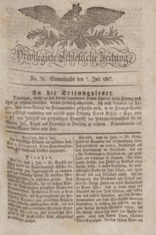 Privilegirte Schlesische Zeitung. 1827, No. 79 (7 Juli) + dod.