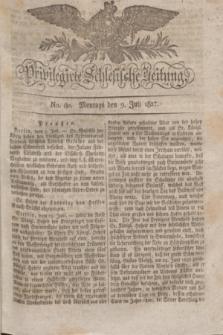 Privilegirte Schlesische Zeitung. 1827, No. 80 (9 Juli) + dod.