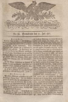 Privilegirte Schlesische Zeitung. 1827, No. 85 (21 Juli) + dod. + wkładka