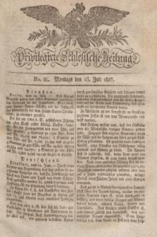 Privilegirte Schlesische Zeitung. 1827, No. 86 (23 Juli) + dod.