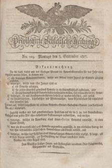 Privilegirte Schlesische Zeitung. 1827, No. 104 (3 September) + dod.