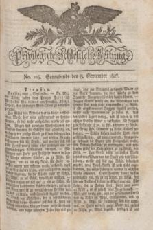 Privilegirte Schlesische Zeitung. 1827, No. 106 (8 September) + dod.