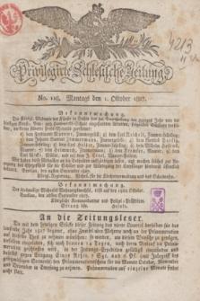 Privilegirte Schlesische Zeitung. 1827, No. 116 (1 Oktober) + dod.