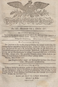Privilegirte Schlesische Zeitung. 1827, No. 117 (3 Oktober) + dod.