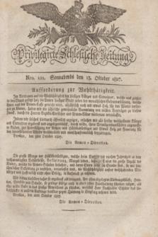 Privilegirte Schlesische Zeitung. 1827, Nro. 121 (13 Oktober) + dod.