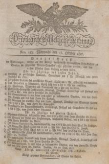Privilegirte Schlesische Zeitung. 1827, Nro. 123 (17 Oktober) + dod.