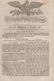Privilegirte Schlesische Zeitung. 1827, Nro. 134 (12 November) + dod. + wkładka