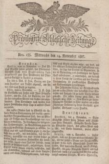 Privilegirte Schlesische Zeitung. 1827, Nro. 135 (14 November) + dod. + wkładka