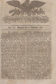 Privilegirte Schlesische Zeitung. 1827, Nro. 137 (19 November) + dod.