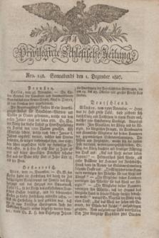Privilegirte Schlesische Zeitung. 1827, Nro. 142 (1 Dezember) + dod.