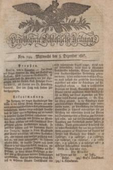 Privilegirte Schlesische Zeitung. 1827, Nro. 144 (5 Dezember) + dod. + wkładka