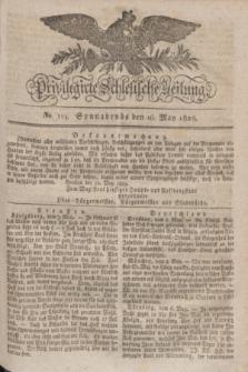 Privilegirte Schlesische Zeitung. 1829, No. 114 (16 Mai) + dod.