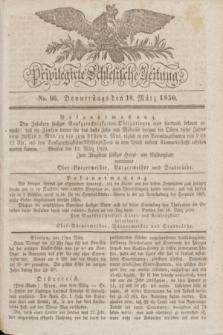 Privilegirte Schlesische Zeitung. 1830, No. 66 (18 März) + dod.