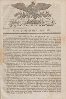 Privilegirte Schlesische Zeitung. 1830, No. 98 (27 April) + dod.
