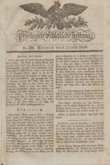 Privilegirte Schlesische Zeitung. 1830, No. 234 (6 October) + dod.