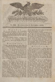 Privilegirte Schlesische Zeitung. 1830, No. 260 (5 November) + dod.