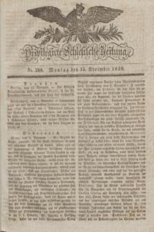 Privilegirte Schlesische Zeitung. 1830, No. 268 (15 November) + dod.