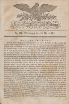 Privilegirte Schlesische Zeitung. 1831, No. 114 (18 Mai) + dod.