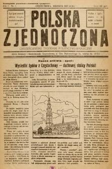 Polska Zjednoczona : chrześcijański tygodnik polityczno-społeczny. 1937, nr1