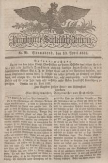 Privilegirte Schlesische Zeitung. 1836, No. 95 (23 April) + dod.