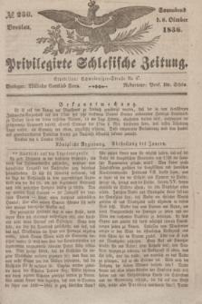 Privilegirte Schlesische Zeitung. 1836, № 236 (8 October) + dod.