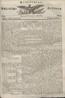 Privilegirte Schlesische Zeitung. 1844, № 74 (27 März) + dod.