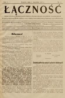 Łączność. 1908, nr2