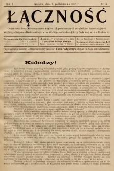 Łączność. 1908, nr3