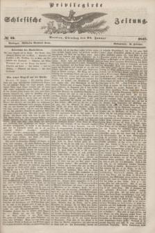Privilegirte Schlesische Zeitung. 1845, № 23 (28 Januar) + dod.