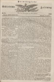 Privilegirte Schlesische Zeitung. 1845, № 24 (29 Januar)