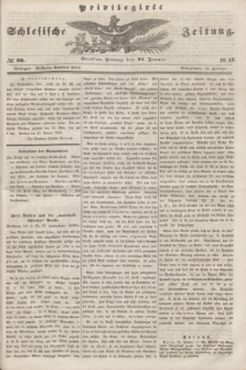 Privilegirte Schlesische Zeitung. 1845, № 26 (31 Januar) + dod.