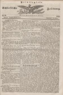 Privilegirte Schlesische Zeitung. 1845, № 27 (1 Februar) + dod.