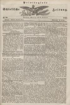 Privilegirte Schlesische Zeitung. 1845, № 28 (3 Februar) + dod.