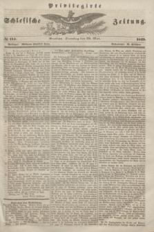 Privilegirte Schlesische Zeitung. 1845, № 114 (20 Mai) + dod.