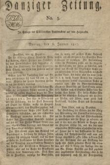 Danziger Zeitung. 1817, No. 3 (6 Januar)