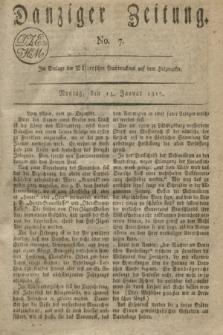 Danziger Zeitung. 1817, No. 7 (13 Januar)